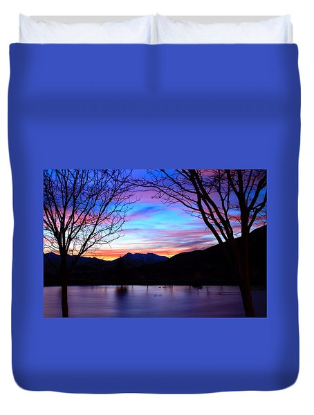 Rose Canyon Duvet Cover