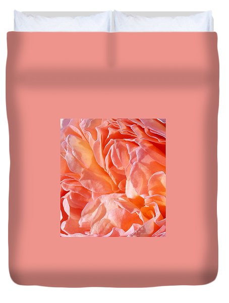 Rose Contemplation II Duvet Cover