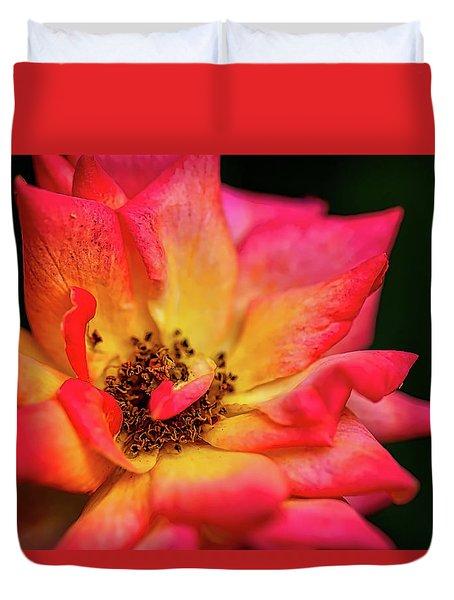 Rose Corolla Duvet Cover
