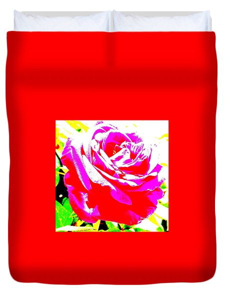 Rose Duvet Cover by Dana Patterson