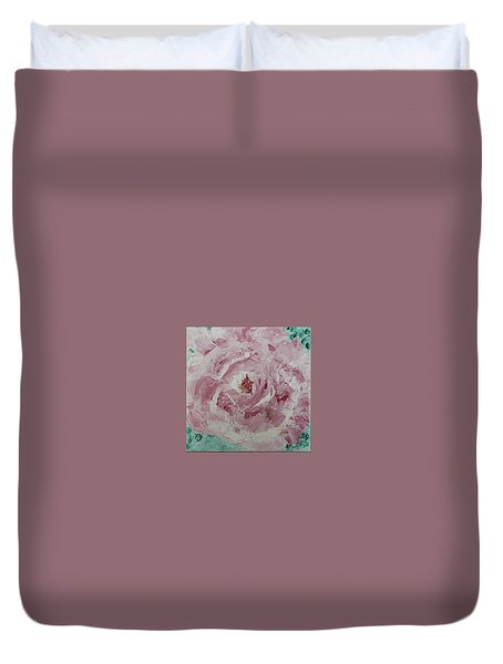 Rose Duvet Cover by Donna Andrews