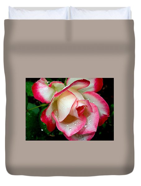 Rose Drops Duvet Cover