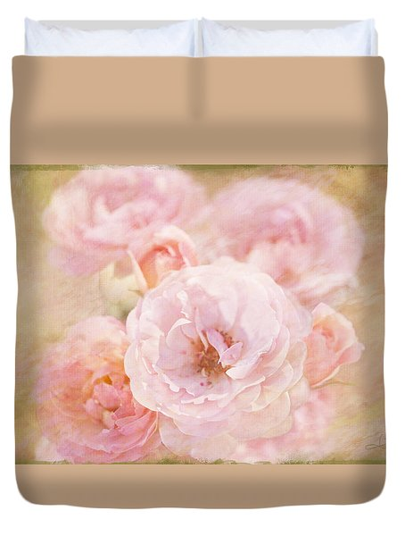 Rose Garden 1 Duvet Cover
