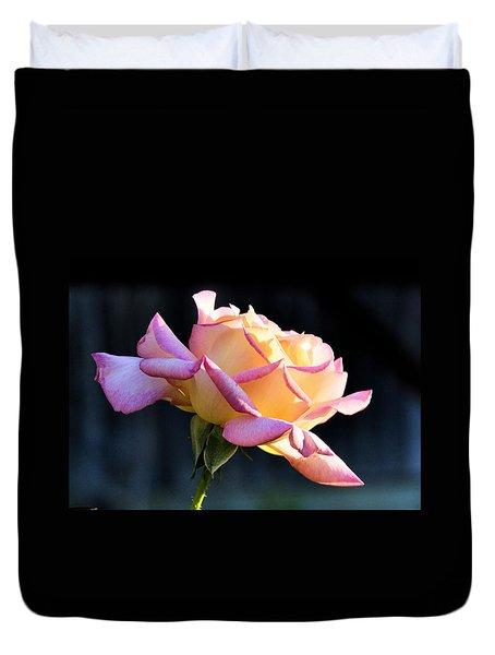 Rose In Sunshine Duvet Cover