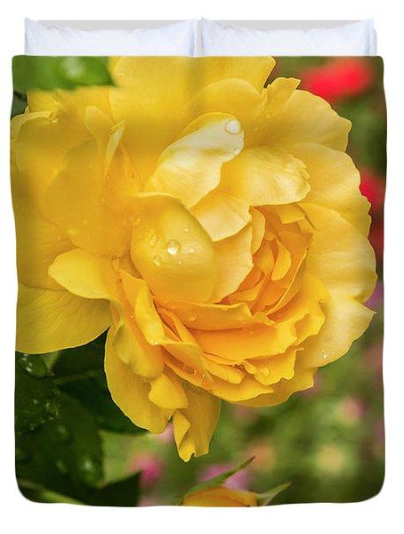 Rose, Julia Child Duvet Cover