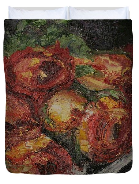 Rose Melody Duvet Cover