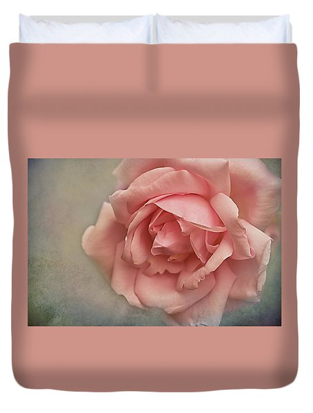 Rose New Dawn Duvet Cover