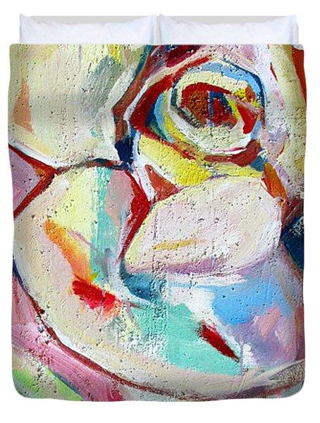 Rose Number 1 Duvet Cover