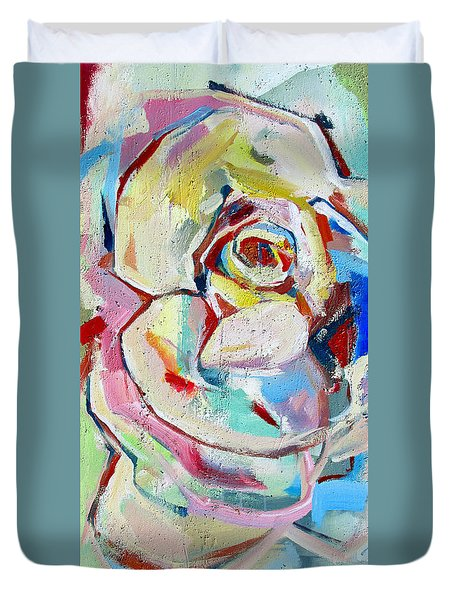 Rose Number 1 Duvet Cover
