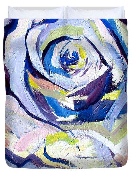 Rose Number 2 Duvet Cover