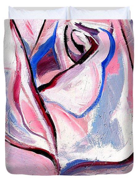 Rose Number 5 Duvet Cover