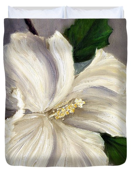 Rose Of Sharon Diana Duvet Cover by Randy Burns