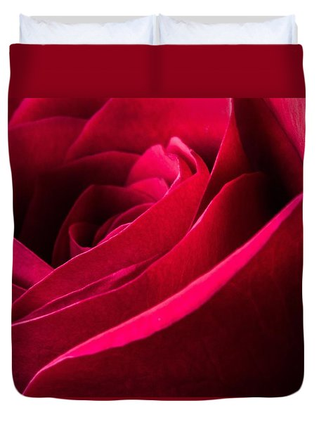 Rose Of Velvet Duvet Cover