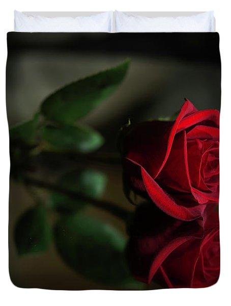 Rose Reflected Duvet Cover