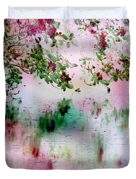 Rose Reflections Duvet Cover