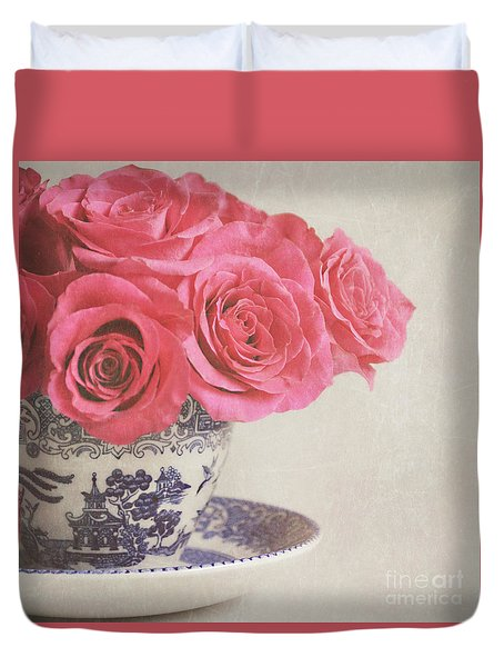Rose Tea Duvet Cover