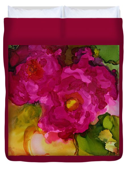 Rose To The Occation Duvet Cover by Joanne Smoley