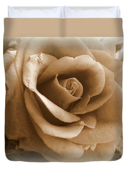 Rose Vignette Duvet Cover