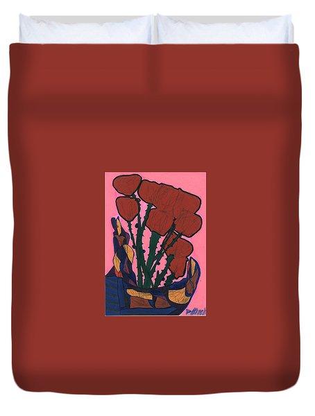 Rosebed Duvet Cover by Darrell Black