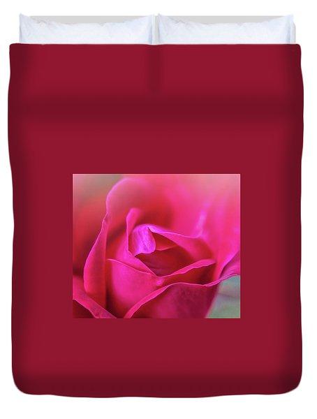 Rosebud Madness Duvet Cover