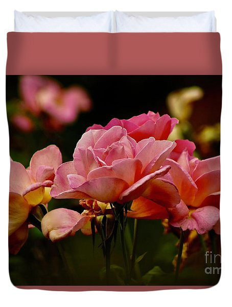 Roses By The Bunch Duvet Cover