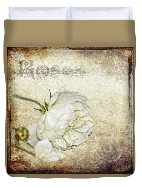 Roses Duvet Cover by Carolyn Marshall