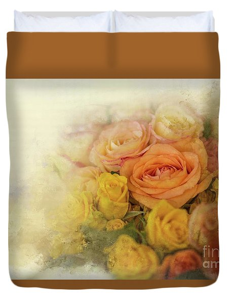 Roses For Mother's Day Duvet Cover