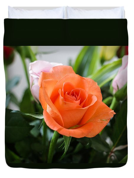 Roses For You Duvet Cover
