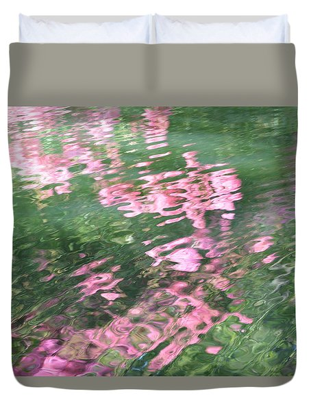 Rosey Ripples Duvet Cover