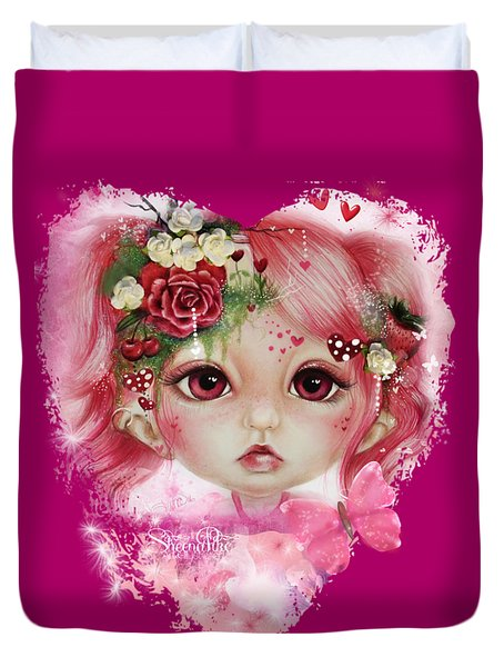 Rosie Valentine - Munchkinz Collection  Duvet Cover by Sheena Pike
