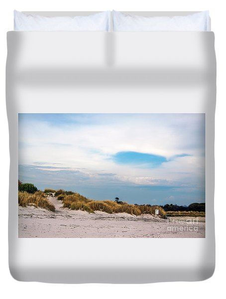 Rosignano Beach Duvet Cover