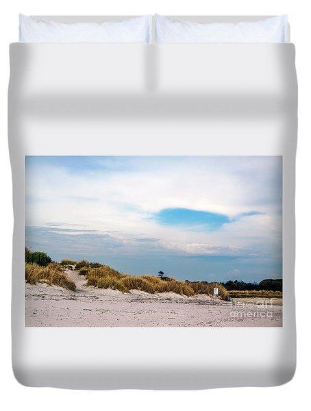 Rosignano Beach Duvet Cover