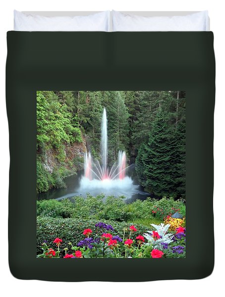 Ross Fountain Duvet Cover