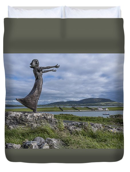 Rosses Point Sligo Duvet Cover