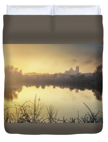 Duvet Cover featuring the photograph Roswell View by James Billings