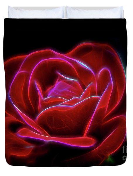 Rosy Dream Duvet Cover
