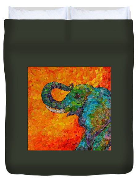 Rosy The Elephant Duvet Cover