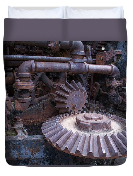 Rotary Tribute 2 Duvet Cover by Rhys Arithson