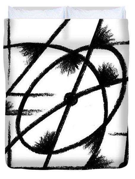 Rotation Axis Duvet Cover