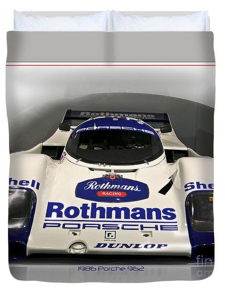 Rothmans Porche Duvet Cover
