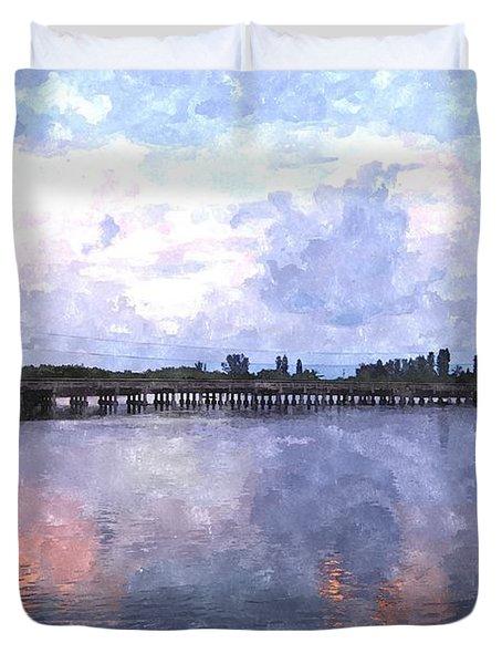 Rotonda River Roriwc Duvet Cover by Jim Brage