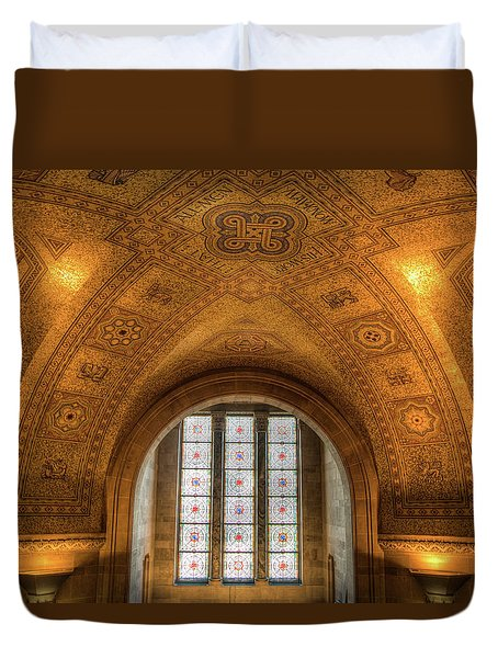 Rotunda Ceiling Royal Ontario Museum Duvet Cover