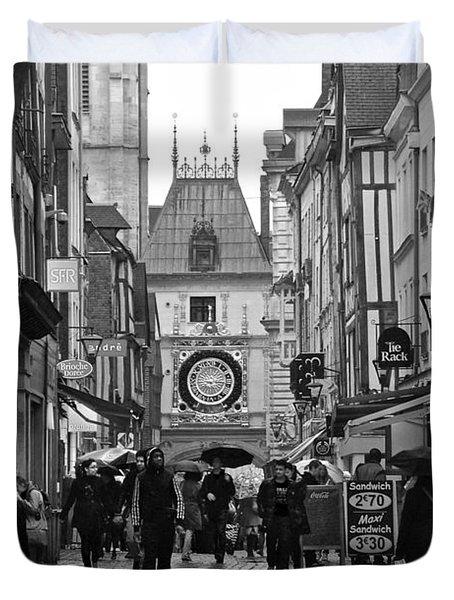 Rouen Street Duvet Cover