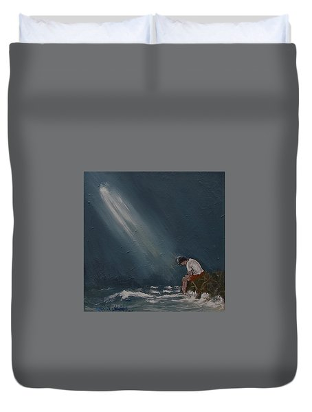 Rough Day Duvet Cover