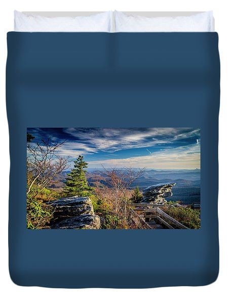 Rough Ridge View Duvet Cover