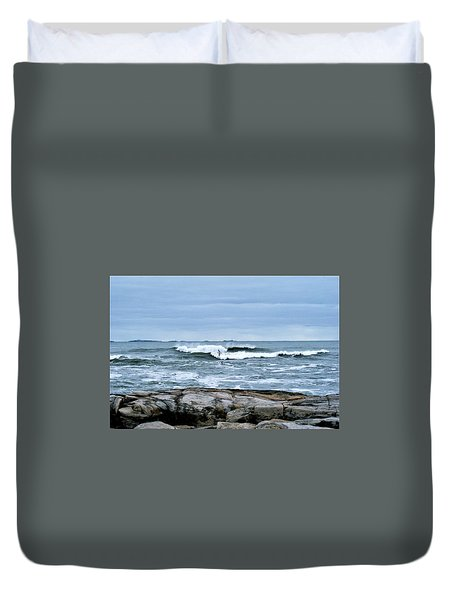 Rough Seas 2 Duvet Cover
