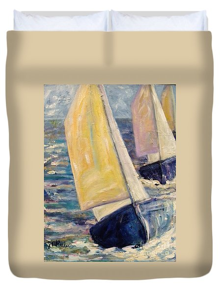 Rough Seas Duvet Cover