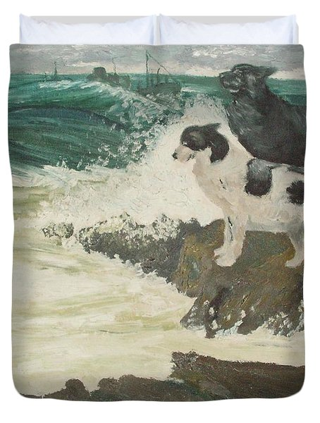 Roughsea Duvet Cover by Terry Frederick