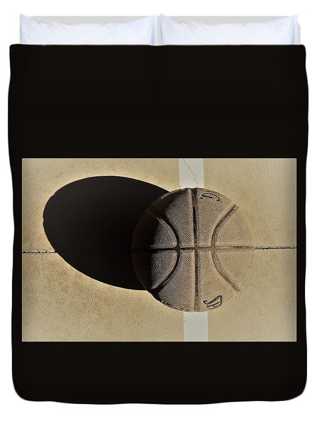 Round Ball And Shadow Duvet Cover