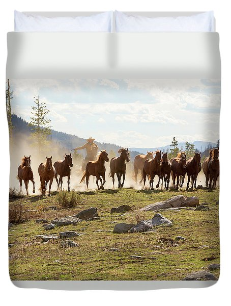 Round Up Duvet Cover